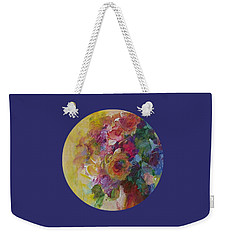 Floral Still Life Weekender Tote Bag by Mary Wolf