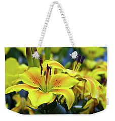 Floral Sunshine Weekender Tote Bag