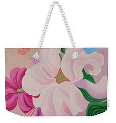 Floral Symphony Weekender Tote Bag