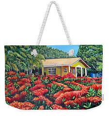 Floral Takeover Weekender Tote Bag