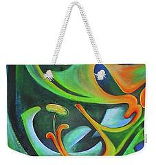 Floralblue Weekender Tote Bag