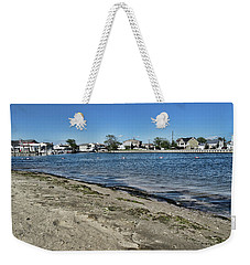 Florance Beach Park Weekender Tote Bag by Mikki Cucuzzo