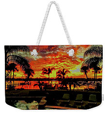 Floridian Iconic Sunset Weekender Tote Bag