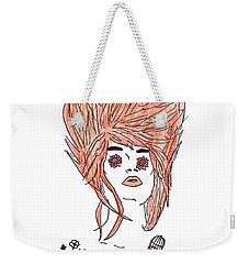 Florence And The Machine Weekender Tote Bag by Lucy Frost
