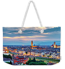 Weekender Tote Bag featuring the photograph Florence by Fabrizio Troiani