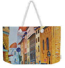 Florence Going To The Duomo Weekender Tote Bag