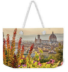 Florence In Summer Weekender Tote Bag