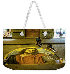 Florence Street Art Weekender Tote Bag by Jean Haynes