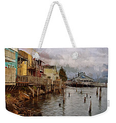 Weekender Tote Bag featuring the photograph Scene On The Siuslaw  by Thom Zehrfeld