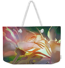 Weekender Tote Bag featuring the photograph Flores De Andalucia by Alfonso Garcia