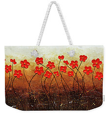 Flores De Mi Jardin Weekender Tote Bag