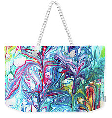Florescence Weekender Tote Bag by Tom Druin