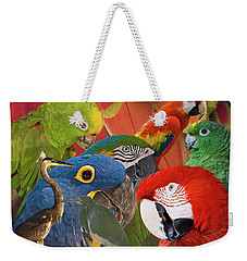 Florida Birds Weekender Tote Bag