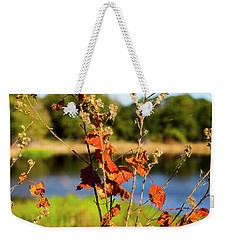 Florida Fall Leaves Weekender Tote Bag