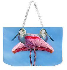 Florida Keys Roseate Spoonbill Weekender Tote Bag