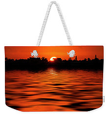 Florida Keys Sunset  Weekender Tote Bag by Kevin Cable