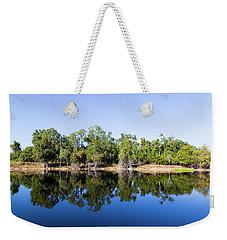 Florida Lake And Trees Weekender Tote Bag