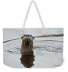 Florida Otter Weekender Tote Bag