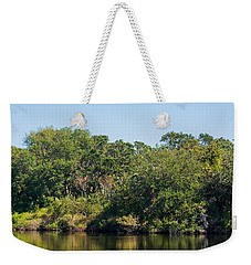 Florida Pond Weekender Tote Bag by Kenneth Albin