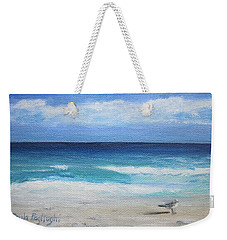 Florida Seagull Weekender Tote Bag