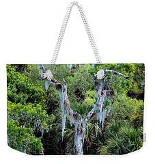 Florida Spanish Moss Weekender Tote Bag