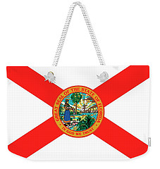 Florida State Flag Weekender Tote Bag by American School