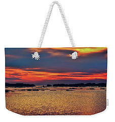 Weekender Tote Bag featuring the photograph Florida West Coast  by Louis Ferreira