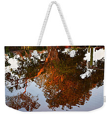 Florida Winter Reflection Weekender Tote Bag