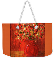 Florists Red Weekender Tote Bag