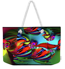 Flow Weekender Tote Bag by Elaine Hunter
