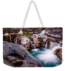Flow Weekender Tote Bag by Giuseppe Torre