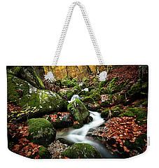 Flow Weekender Tote Bag by Jorge Maia