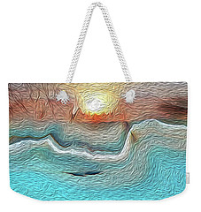 Flow Of Creation Weekender Tote Bag