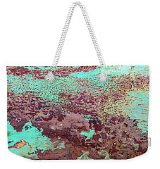 Weekender Tote Bag featuring the photograph Flow by Ronald Santini