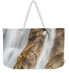Weekender Tote Bag featuring the photograph Flow by Stephen Stookey