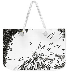 Flower 1 2015 Aceo Weekender Tote Bag by Joseph A Langley