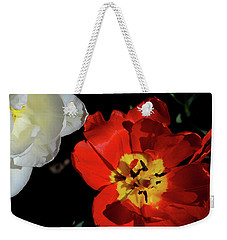 Flower 55 Weekender Tote Bag by David Gilbert