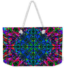 Flower Abstract 9 Weekender Tote Bag by Mike McGlothlen