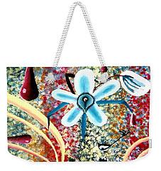 Flower And Ant Weekender Tote Bag
