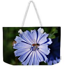 Flower And Bee 2 Weekender Tote Bag