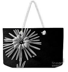 Flower And Bees Weekender Tote Bag by Jimmy Ostgard