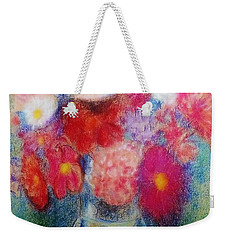 Flower Arrangement Weekender Tote Bag