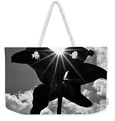 Weekender Tote Bag featuring the photograph Flower Art by Zawhaus Photography