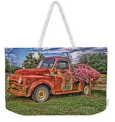 Dodge Flower Bed Weekender Tote Bag