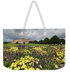 Flower Bed Hampton Court Palace Weekender Tote Bag
