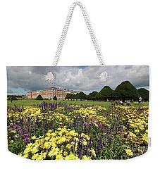 Flower Bed Hampton Court Palace Weekender Tote Bag
