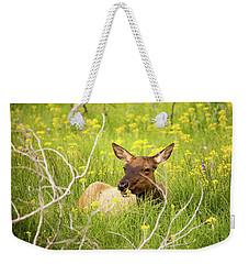 Flower Child Weekender Tote Bag