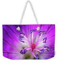 Flower Color Explosion Weekender Tote Bag