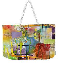 Flower Dance Weekender Tote Bag by Hailey E Herrera