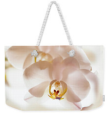Weekender Tote Bag featuring the photograph Flowers Delight- by JD Mims